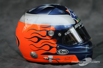 Photoshoot: helmet of Robert Doornbos