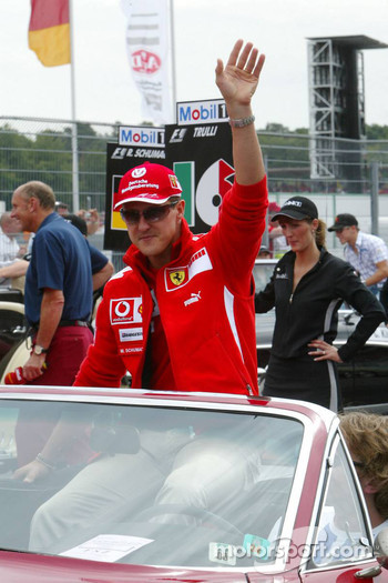 Drivers presentation: Michael Schumacher