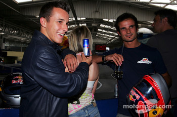 Red Bull Petit Prix in Manheim: Christian Klien and Vitantonio Liuzzi