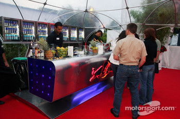 Red Bull Petit Prix in Manheim: the bar
