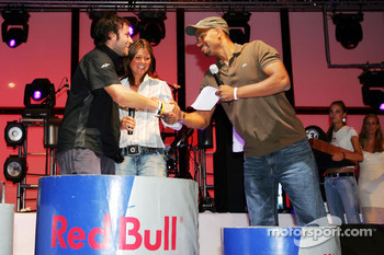 Red Bull Petit Prix in Manheim: podium celebrations