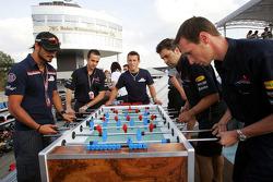 Red Bull Racing Chilled Thirstday part: Vitantonio Liuzzi and Christian Klien