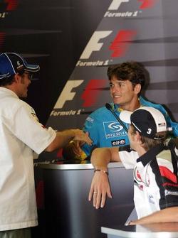 Thursday FIA press conference: Giancarlo Fisichella, Jacques Villeneuve and Jenson Button