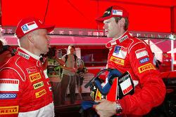Sebastian Lindholm and Marcus Gronholm