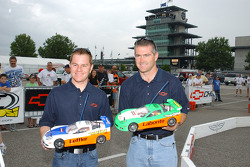 Jason Leffler and Bobby Labonte