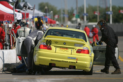 #09 Automatic Racing BMW M3: Jep Thornton, David Russell in the pit