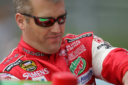 Jeremy Mayfield gets in his car