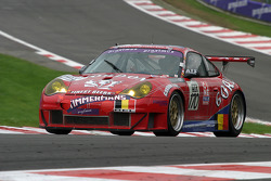 #170 Ice Pol Racing Porsche 996 GT3-RS: Yves Lambert, Christian Lefort, Markus Palttala, Jean André