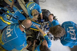 Renault F1 team members at work