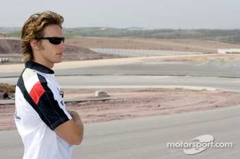 Visit of the Istanbul Otodrom: Jenson Button