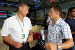 Circuit designer Hermann Tilke and Christian Klien