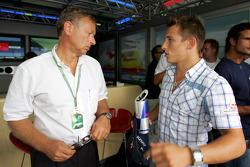 Circuit designer Hermann Tilke and Christian Klien