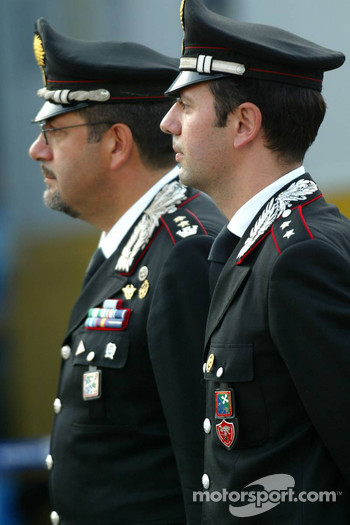 Carabinieri on duty