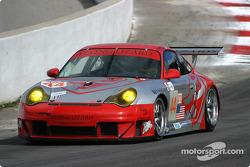 #44 Flying Lizard Motorsports Porsche 911 GT3 RSR: Seth Neiman , Lonnie Pechnik