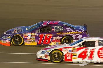 Bobby Labonte and Casey Mears