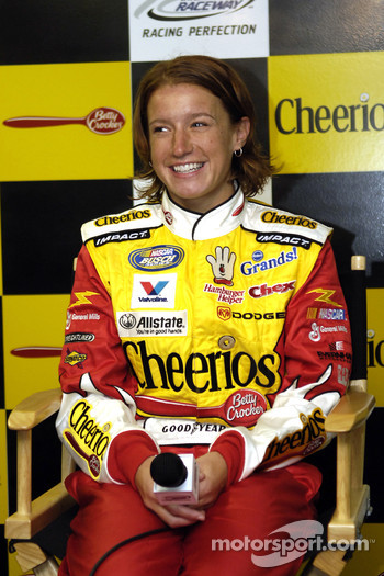 Evernham Motorsports announce plans for Erin Crocker to drive the #98 Cheerio's/Betty Crocker Dodge in the NASCAR Busch Series for the 2006 season: Erin Crocker