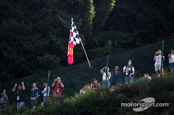 Ferrari fans at Spa