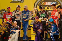 The 10 drivers who qualified for the 2005 Chase for the NASCAR NEXTEL Cup: Matt Kenseth, Mark Martin, Kurt Busch, Ryan Newman, Greg Biffle, Jimmie Johnson, Rusty Wallace, Carl Edwards, Jeremy Mayfield and Tony Stewart