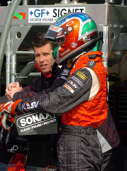 Pole sitters Garth Tander and Rick Kelly discuss strategies