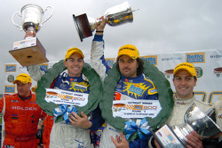 Craig Lowndes and Yvan Muller now look forward to the Bathurst 1000