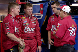 Dale Earnhardt Jr. with crew chief Tony Eury Jr.