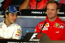 FIA press conference: Felipe Massa and Rubens Barrichello