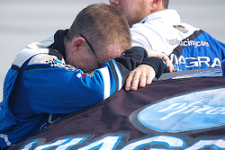 Mark Martin relaxing for a moment