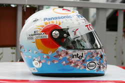 Helmet of Jarno Trulli for the Japanese GP
