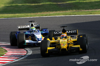 Narain Karthikeyan and Felipe Massa