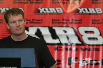 XLR8 press conference: Dale Earnhardt Jr.