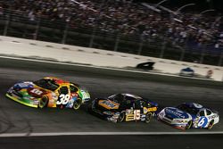 Elliott Sadler, Michael Waltrip and Mark Martin
