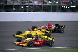 Scott Sharp, Tomas Scheckter and Tomas Enge