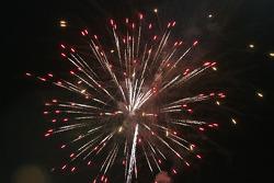 Post-qualifying fireworks