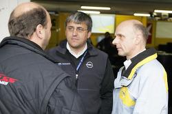 Holger Spiess, Ernst Moser and Volker Strycek