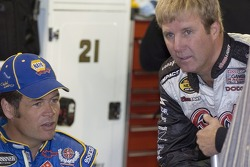 Michael Waltrip and  Sterling Marlin