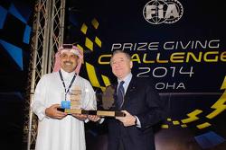 Nasser bin Khalifa al-Attiyah and Jean Todt