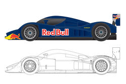 Red Bull Le Mans concept