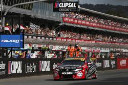 Fabian Coulthard, Brad Jones Racing Holden takes the win