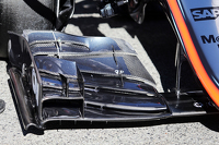 McLaren MP4-30 front wing detail