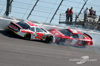 Reed Sorenson and Kasey Kahne crash