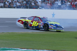 Greg Biffle spins