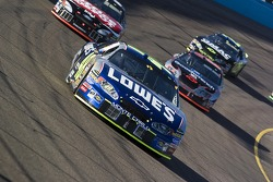 Jimmie Johnson, Kevin Harvick, Carl Edwards and Brian Vickers