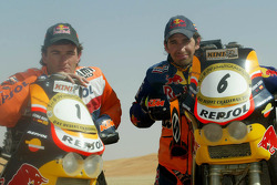 Marc Coma and Jordi Duran