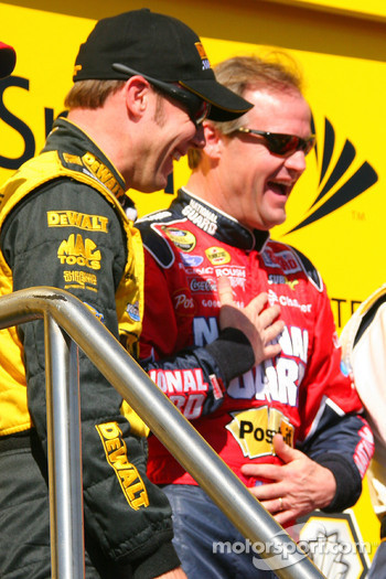 Matt Kenseth and Kenny Wallace