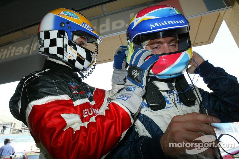Roland Berville and Raymond Narac