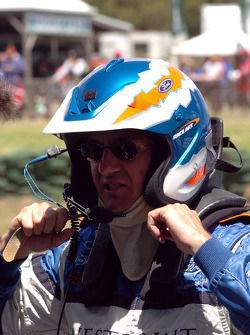 Glenn Seton looking a little distressed