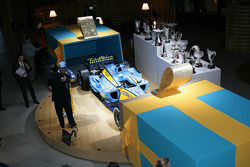 Renault F1 World Championship celebration, Paris