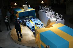 Renault F1 World Championship celebration, Paris