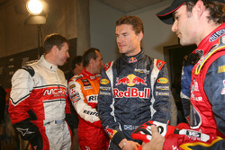 David Coulthard and Jeff Gordon