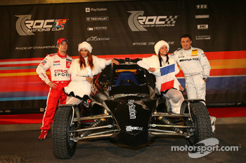 France Nations Cup team Sébastien Loeb and Jean Alesi